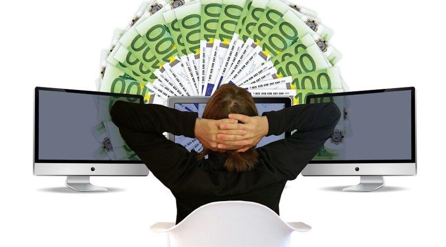 Woman, Euro, Earn Money, Online, Earn, Online Banking