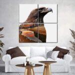 Eagle Nature Multi Panel Canvas Wall Art